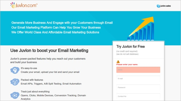 juvlon free boost email tool
