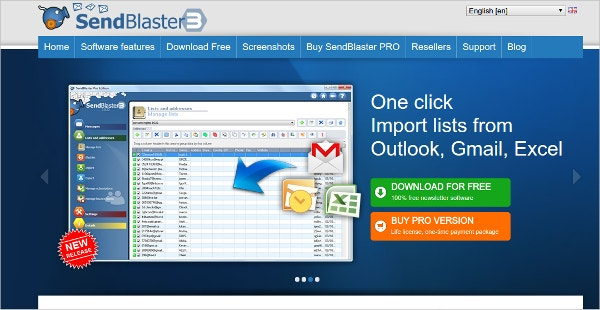 send blaster email blast tools