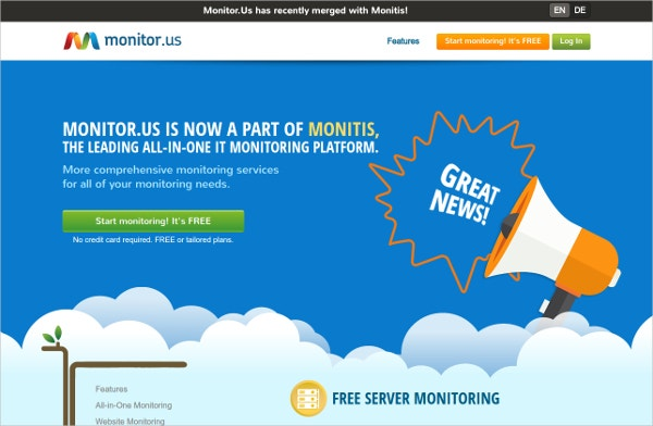 11+ Web Server Monitoring Tools | Free & Premium Templates
