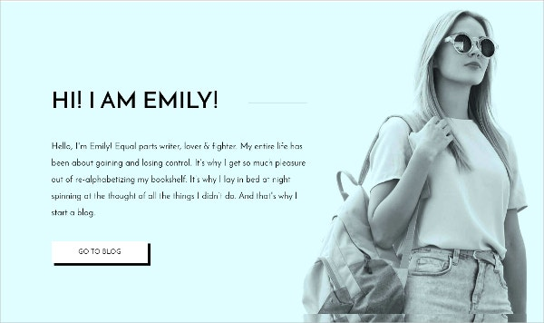 Personal Blog HTML Template