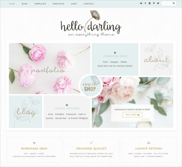 wedding boutique wordpress website theme 75