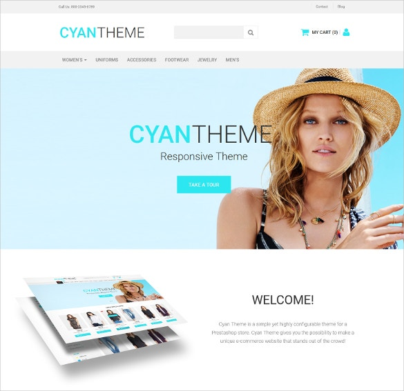 Fashion Boutique  Moto CMS Ecommerce Website Template $199
