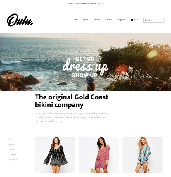 Big eCommerce Boutique Website Theme $49