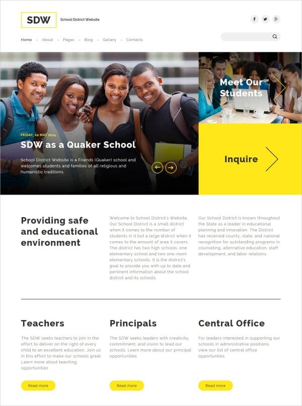 education joomla template1