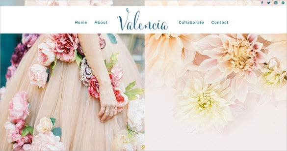 fullscreen wedding boutique website theme 47