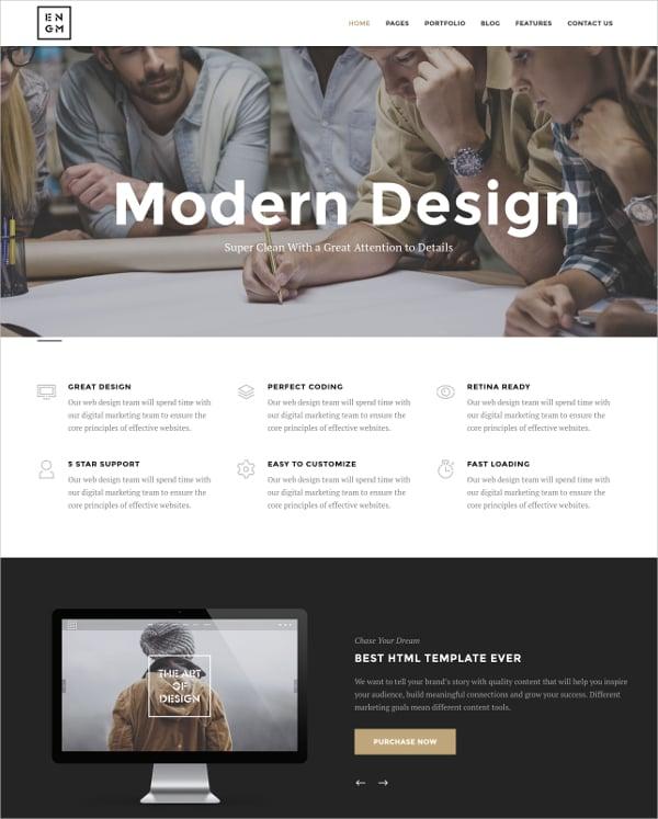 creative responsive minimal joomla template