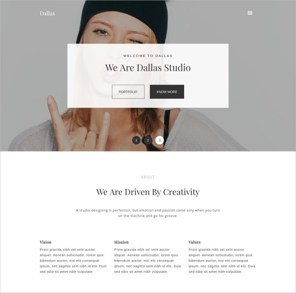 Portfolio & Photography Joomla Template