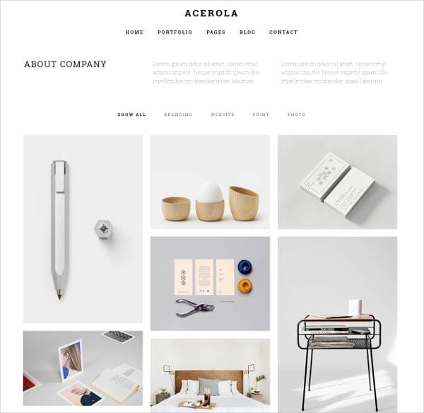 Minimalist Agency Portfolio Joomla Template