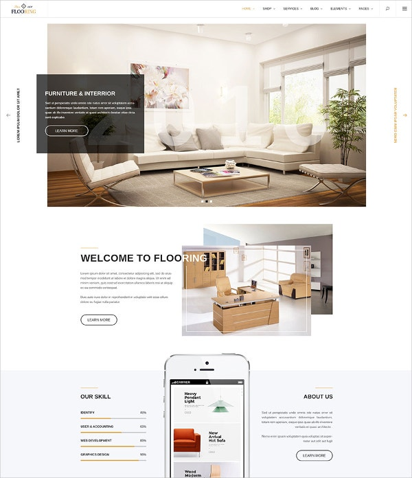 Flooring Multipurpose WordPress Theme.j