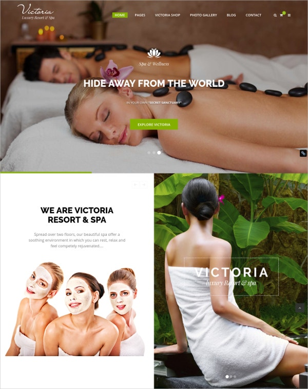 Luxury Resort & Spa WordPress Theme