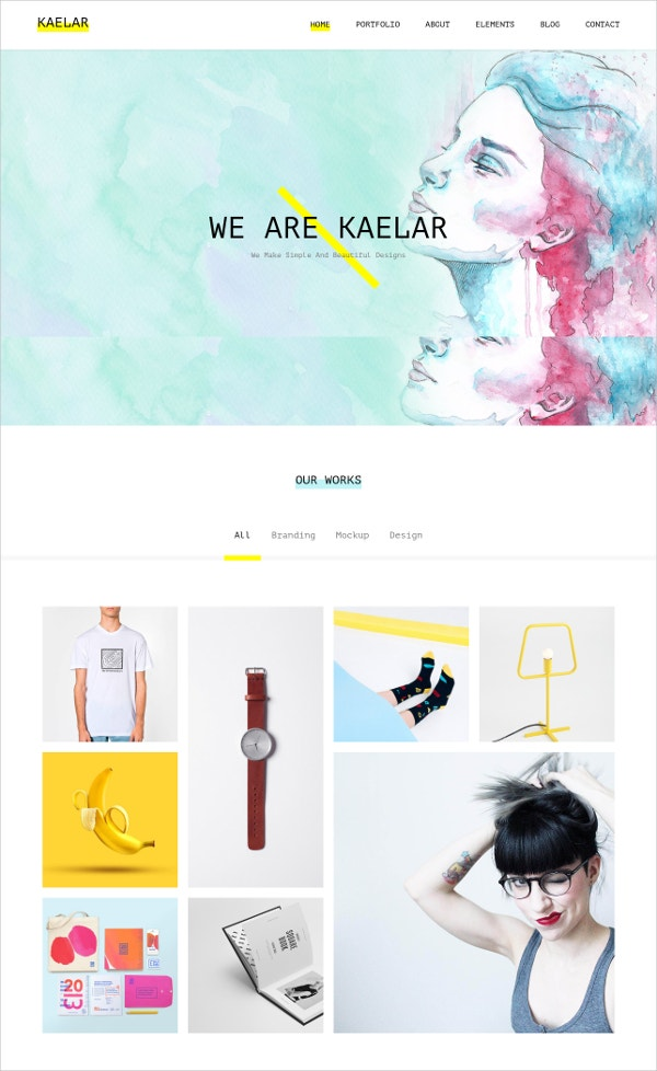 WordPress Portfolio Agency Theme