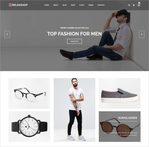 Ecommerce Fashion Template