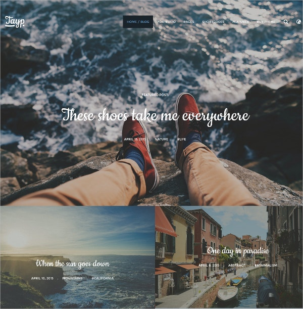 life style wordpress website blogging theme 39