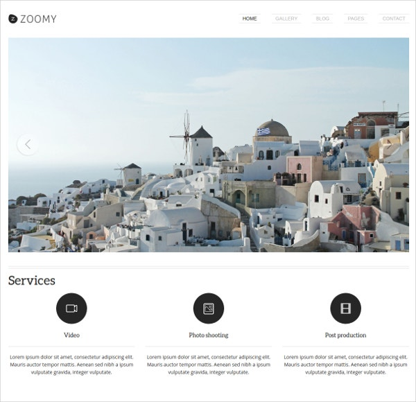 Creative Best WordPress Website Photographer Theme $42