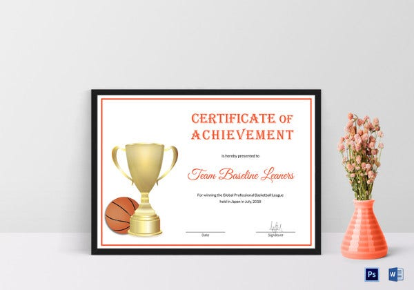 basketball-certificate-of-achievement