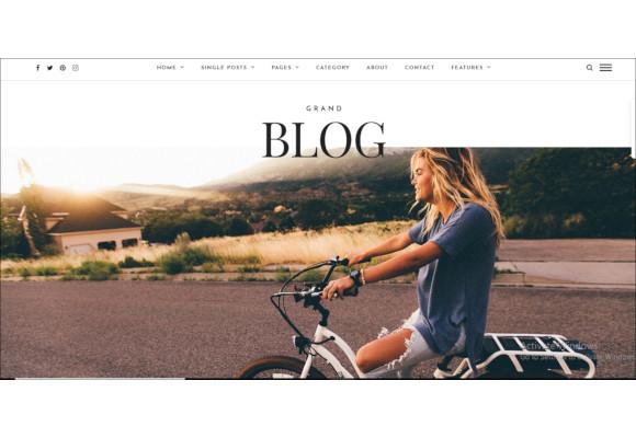 blog wordpress theme1