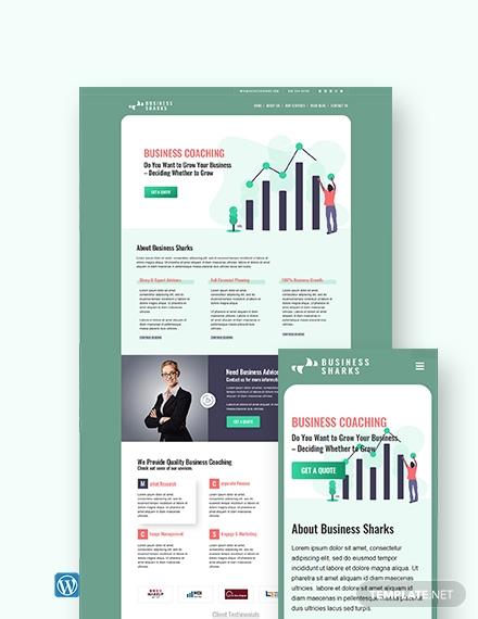 business coaching wordpress themetemplate1