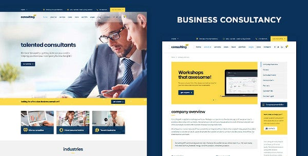 business finance wordpress theme1