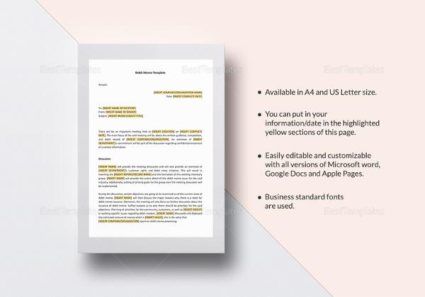 memo template for google docs