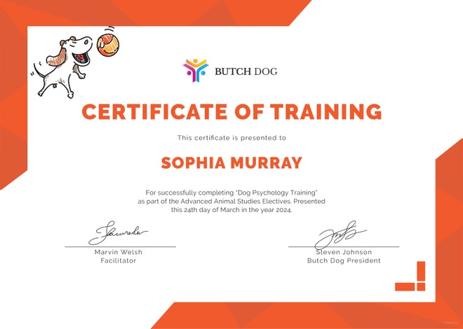 dog-training-certificate-template