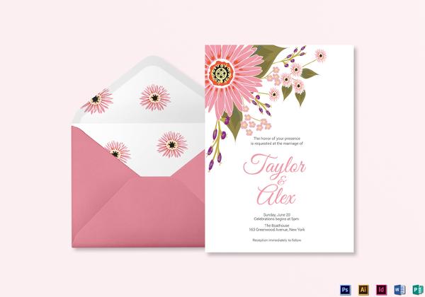 floral-wedding-invitation-card-template
