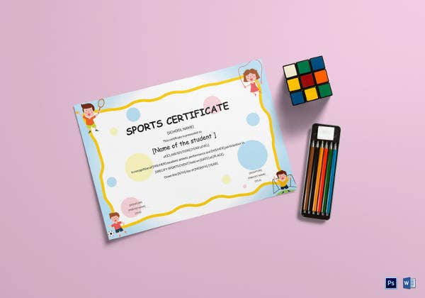 kids-sports-participation-certificate-template