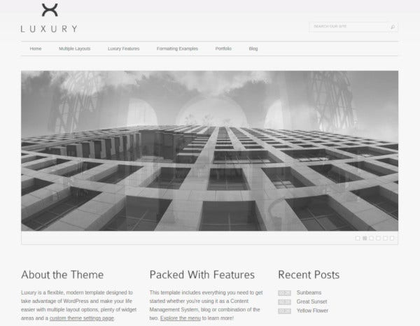 luxury-wordpress-template