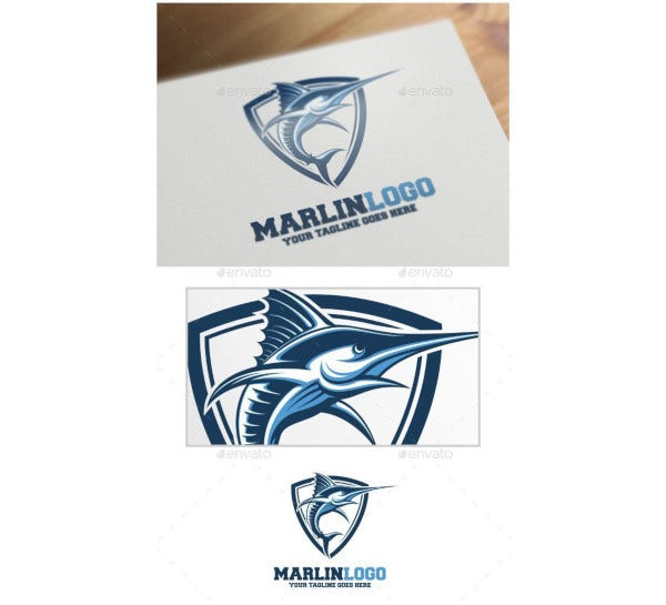 marlin-logo-template