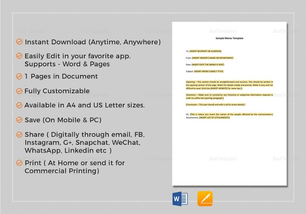 memo-template-in-pages