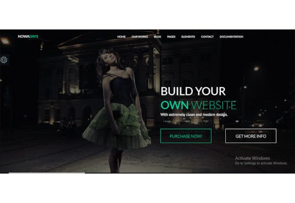 multipurpose one multipage creative agency html5 template