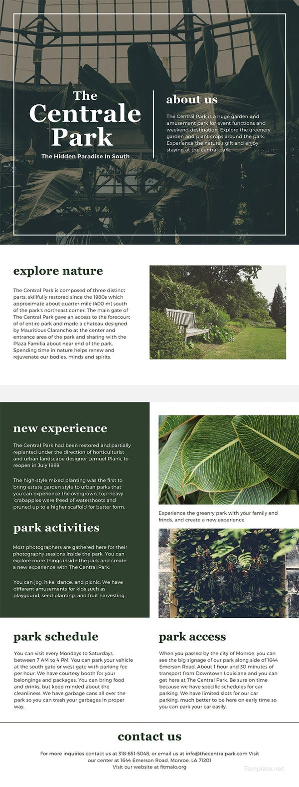 one-page-brochure-template