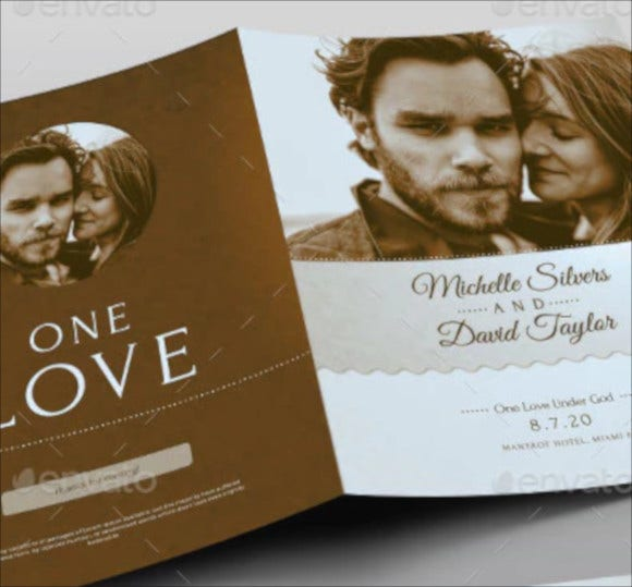 retro-wedding-program-template