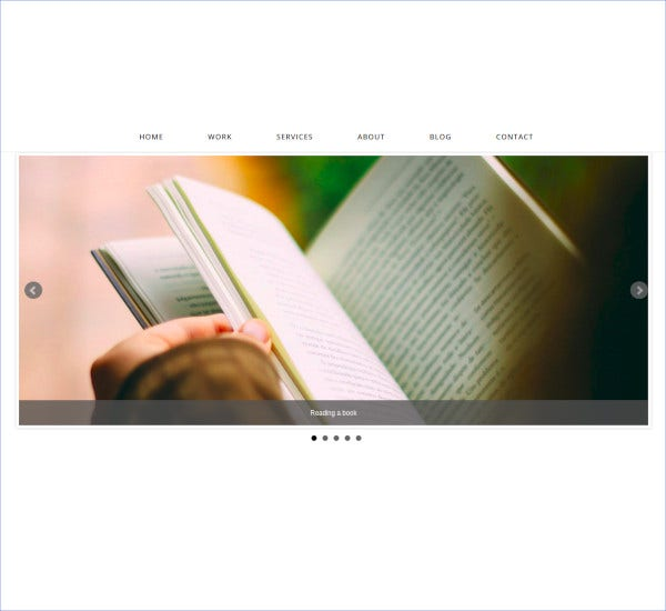 single page bootstrap wordpress website theme