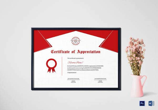 skateboarding-performance-appreciation-certificate-template