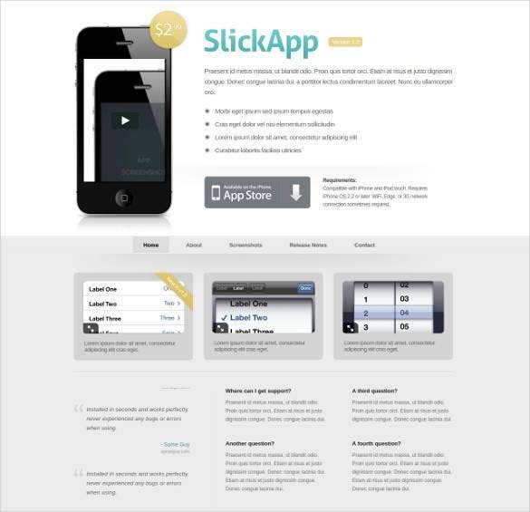 Software Developer Android App Website Theme 11