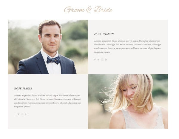 whimsical wordpress wedding theme