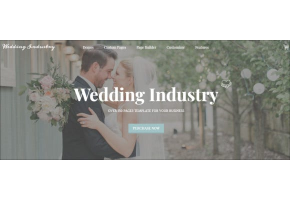 wordpress wedding blog website theme