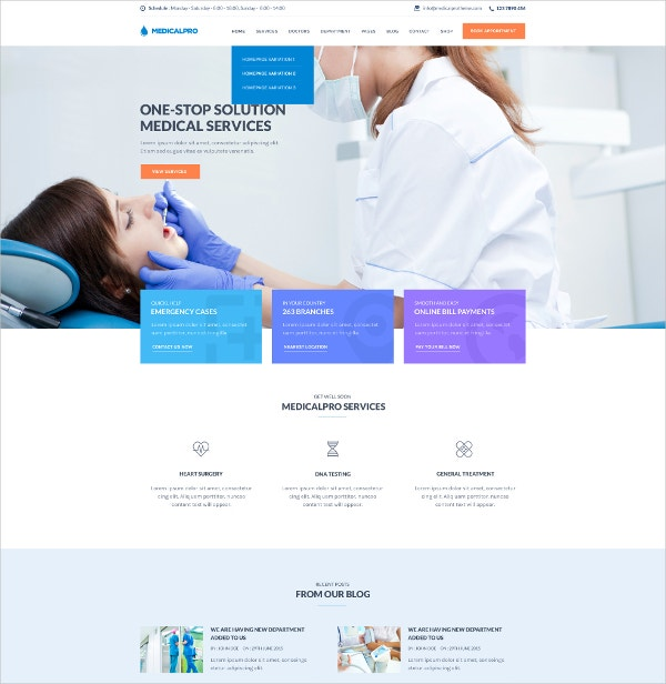 health and medical wordpress website theme 59