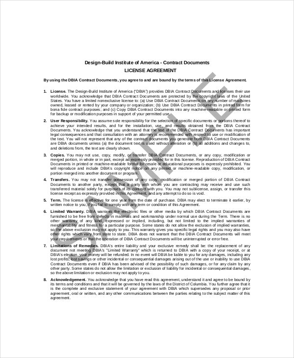 Contractor Confidentiality Agreement   Free Word Pdf Documents