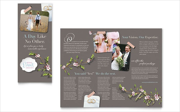 Professional Wedding Planner Brochure