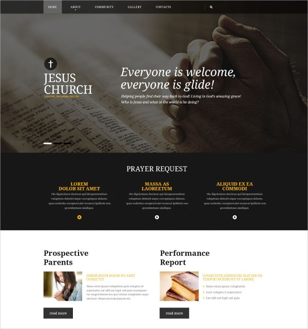 Non Profit Responsive Website Template $75