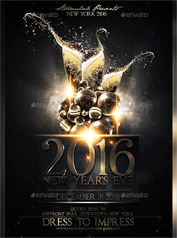 nye luxury flyer template