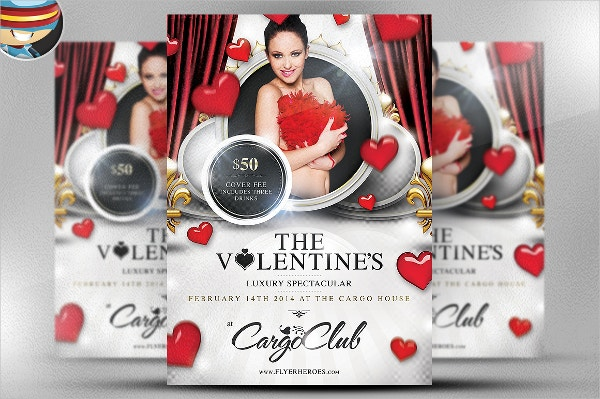 Valentine's Luxury Spectacular Flyer