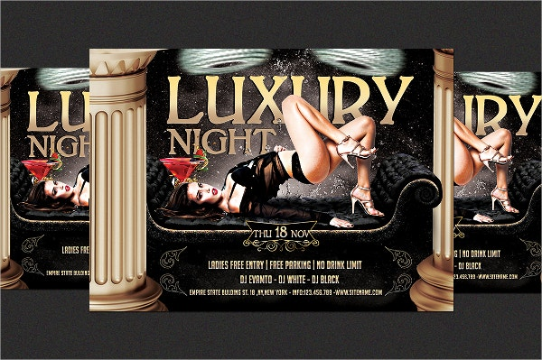 Luxury Night Flyer