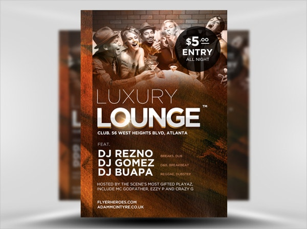 luxury lounge free flyer