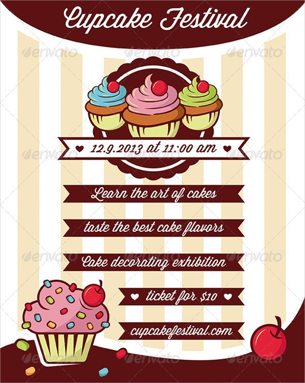 Cupcake Bakery Flyer