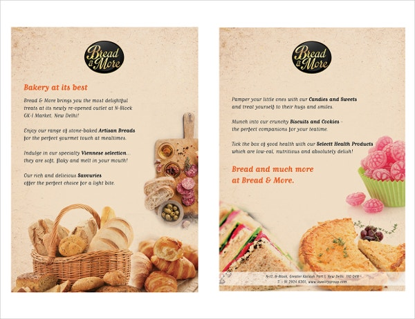 Elegant Flyers for Bakery
