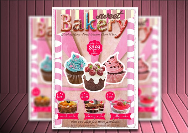 Unique Bakery Flyers