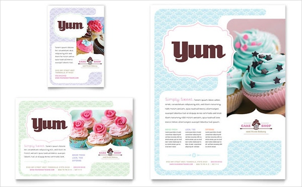29  bakery flyer templates
