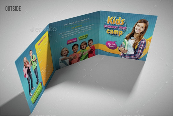 Summer Camp School Brochure Bundle